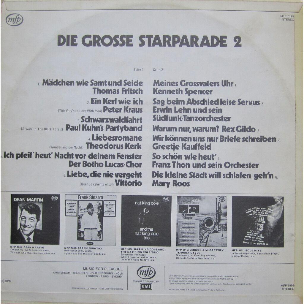 divers artistes - various artist die grosse starparade vol. 2