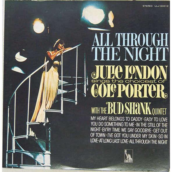 Julie London Bud Shank Joe Pass Russ Freeman Julie London With The Bud Shank Quintet - All Through The Night