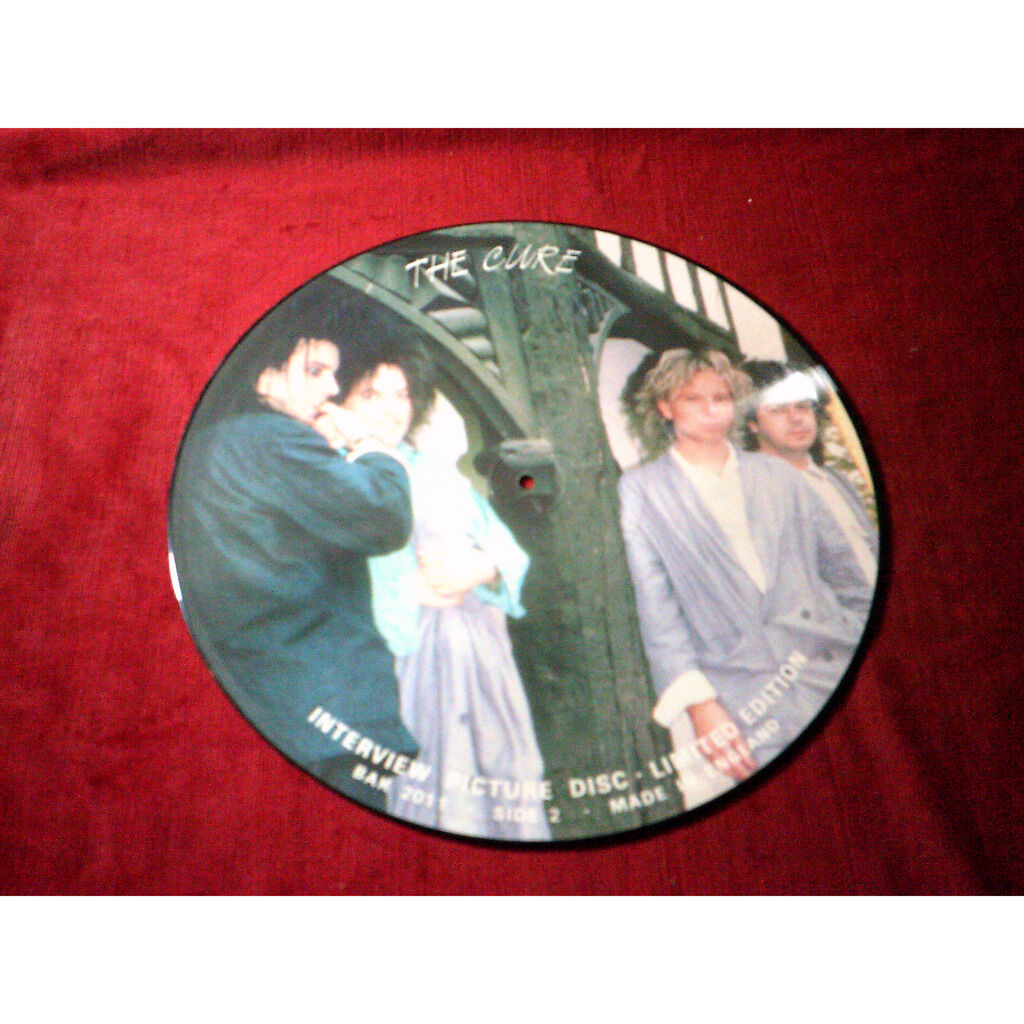 THE CURE INTERVIEW PICTURE DISC LIMITED EDITION