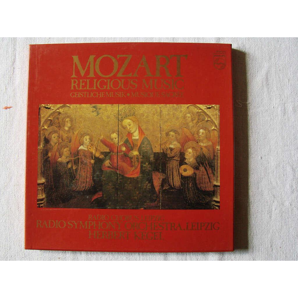 Herbert Kegel : choeur & Orch. Symph. de Leipzig Mozart : musique sacrée
