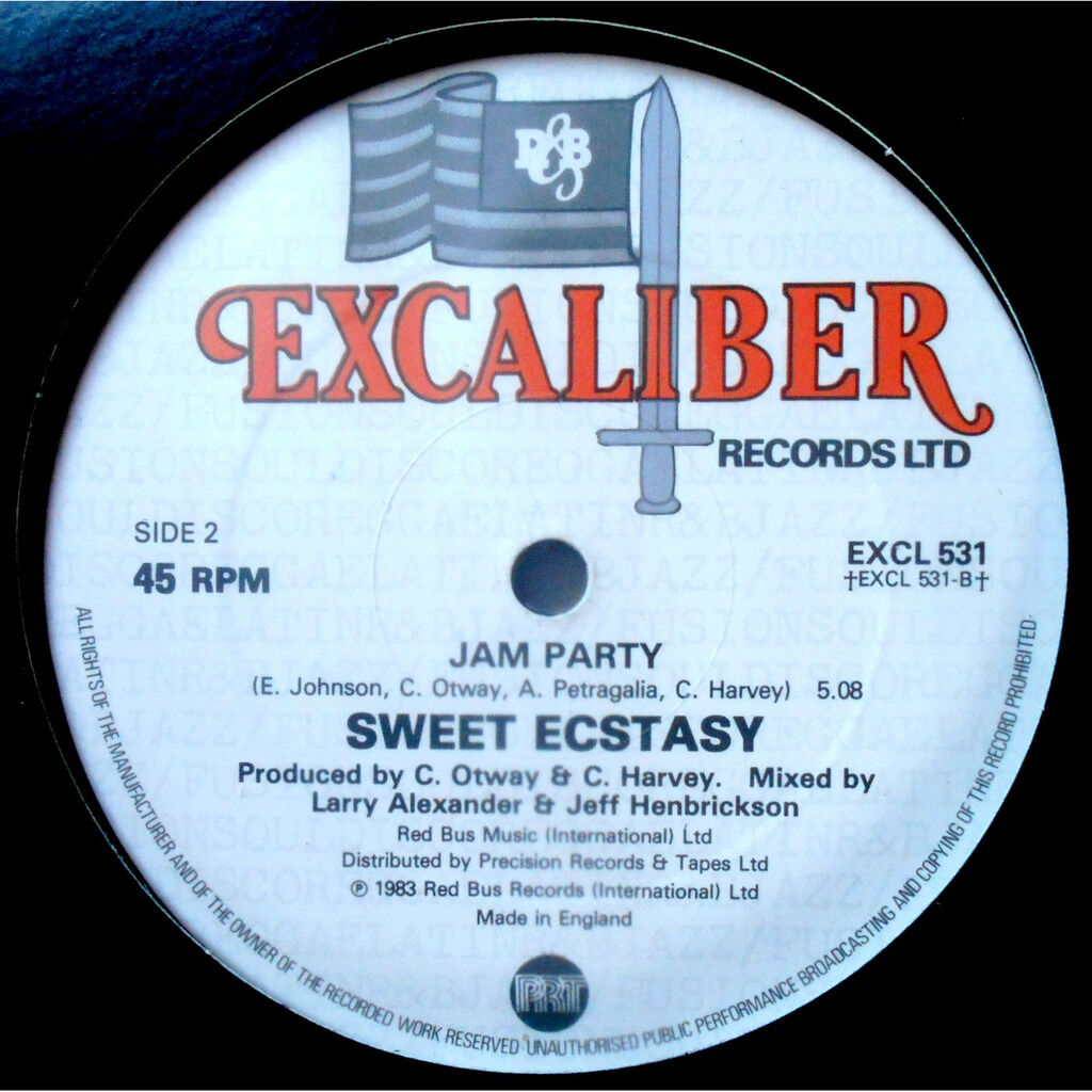 sweet ecstasy pull our love together / jam party