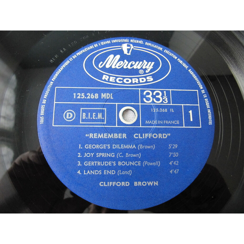 Clifford Brown Remember Clifford