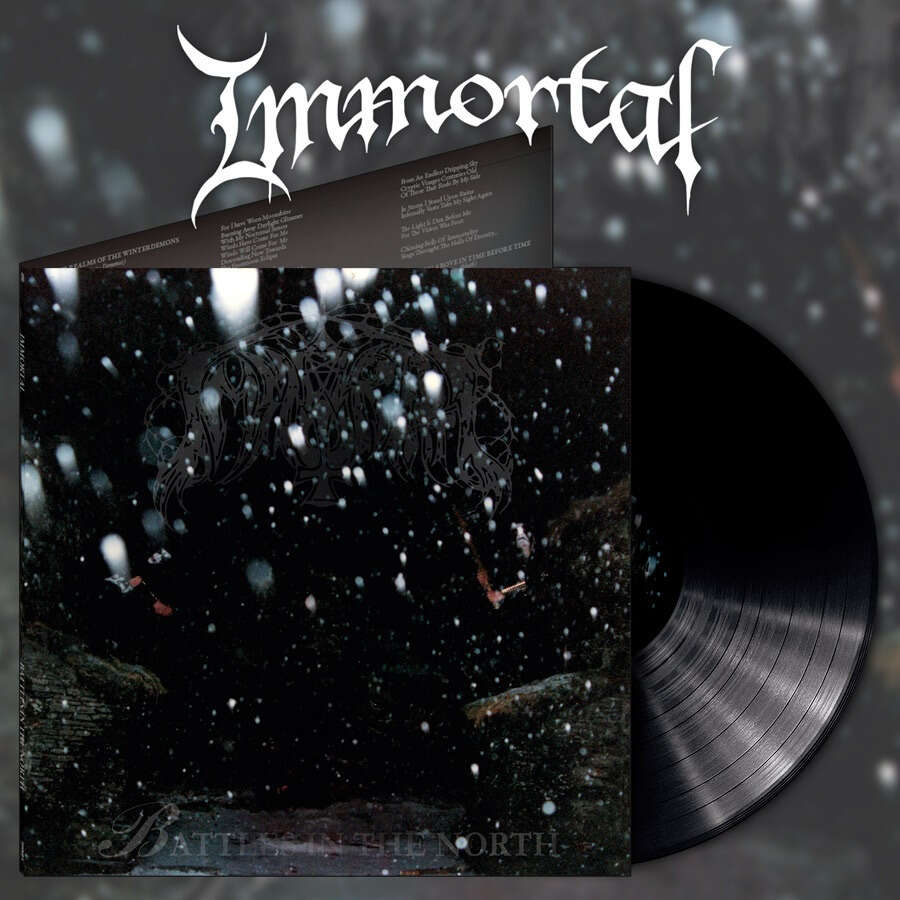 IMMORTAL Battles in the North (Alternative Artwork). Black Vinyl