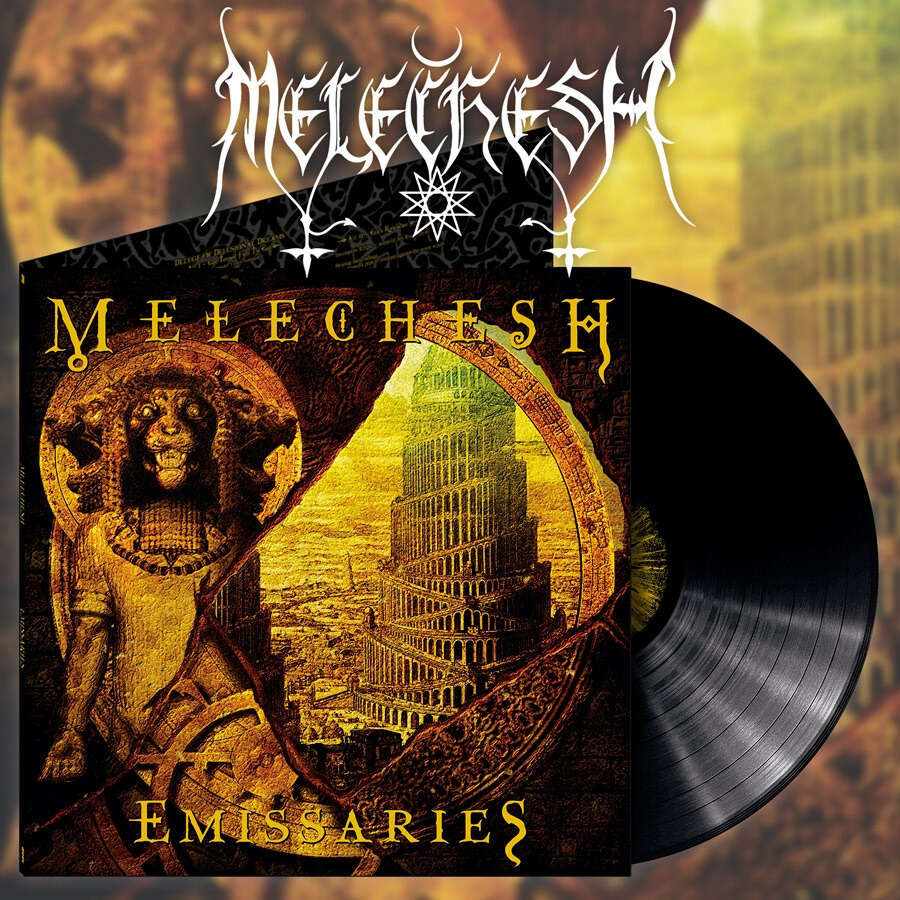 MELECHESH Emissaries. Black Vinyl