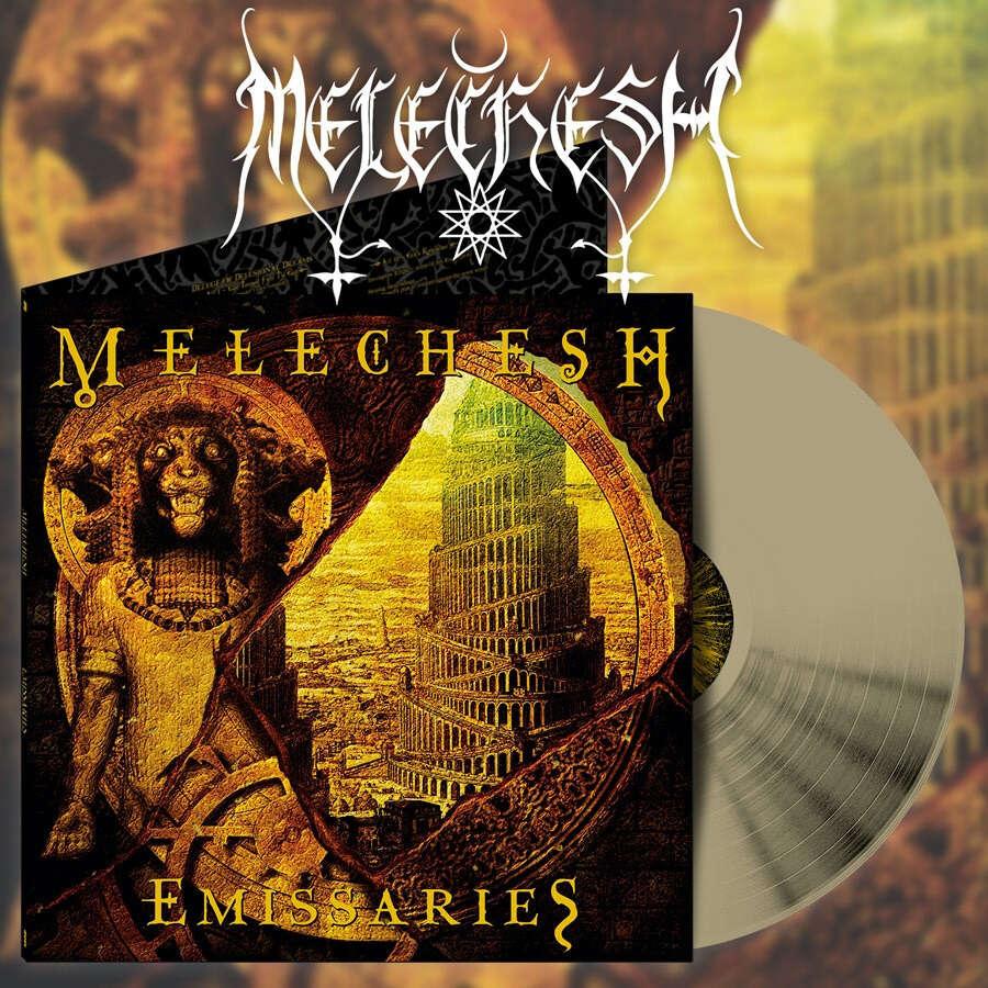 MELECHESH Emissaries. Gold Vinyl