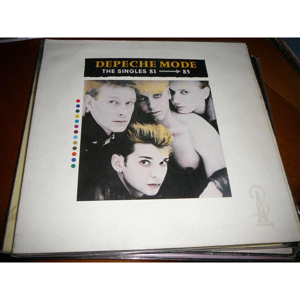 Depeche Mode the singles 81 - 85