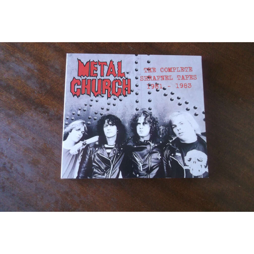 METAL CHURCH The Complete Shrapnel Tapes 81-83