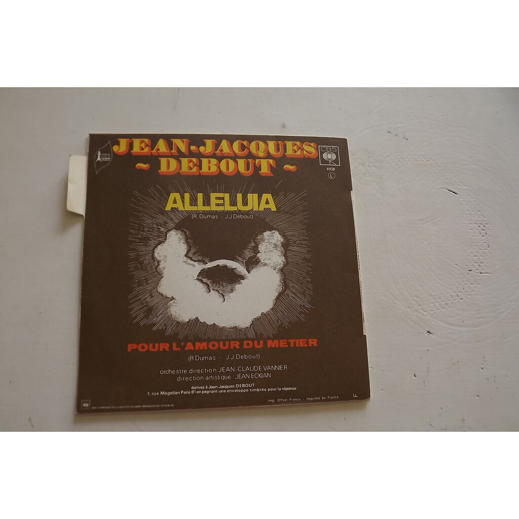 Debout Jean-Jacques Alleluia