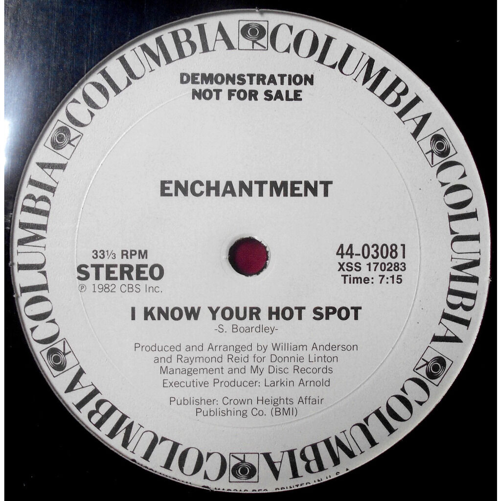 enchantment i know your hot spot