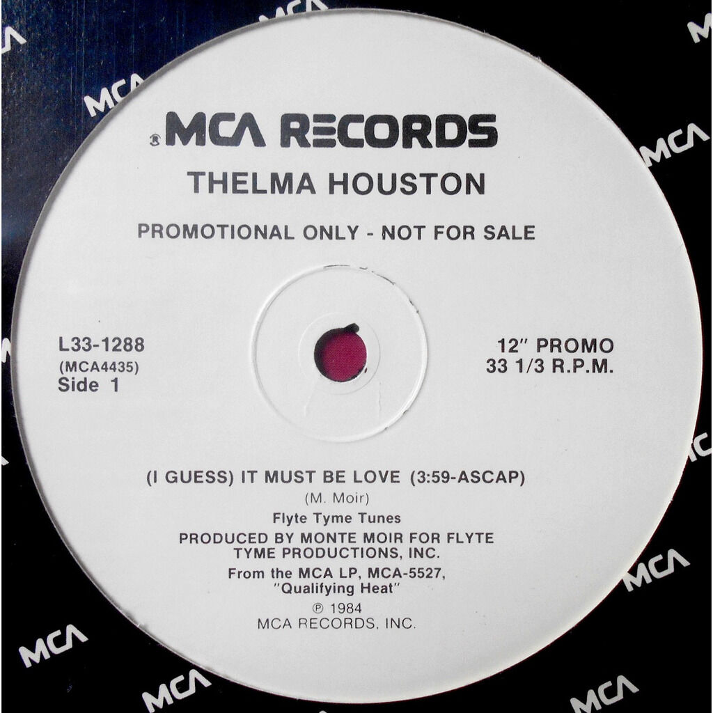 thelma houston (i guess) it must be love / (i guess) it must be love (instrumental)