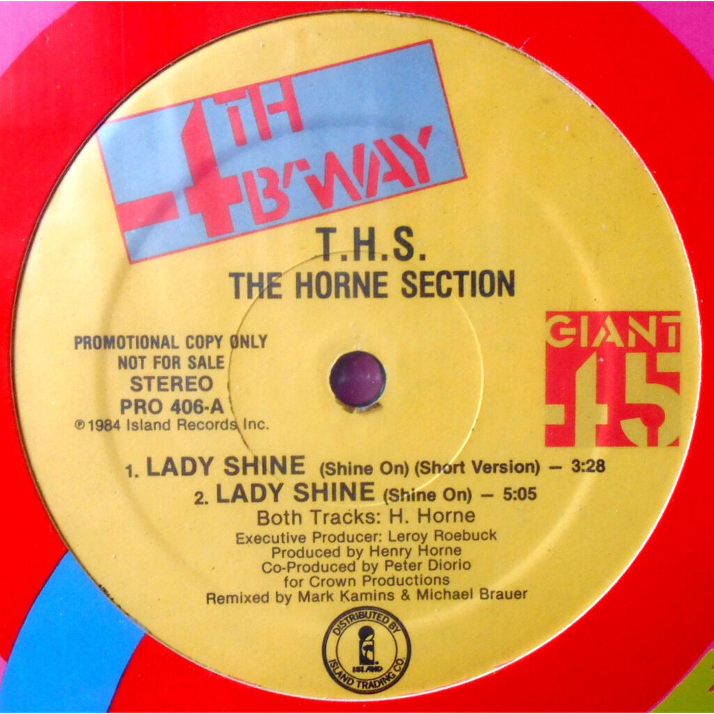 T.H.S. The Horne Section Lady Shine (Shine On)