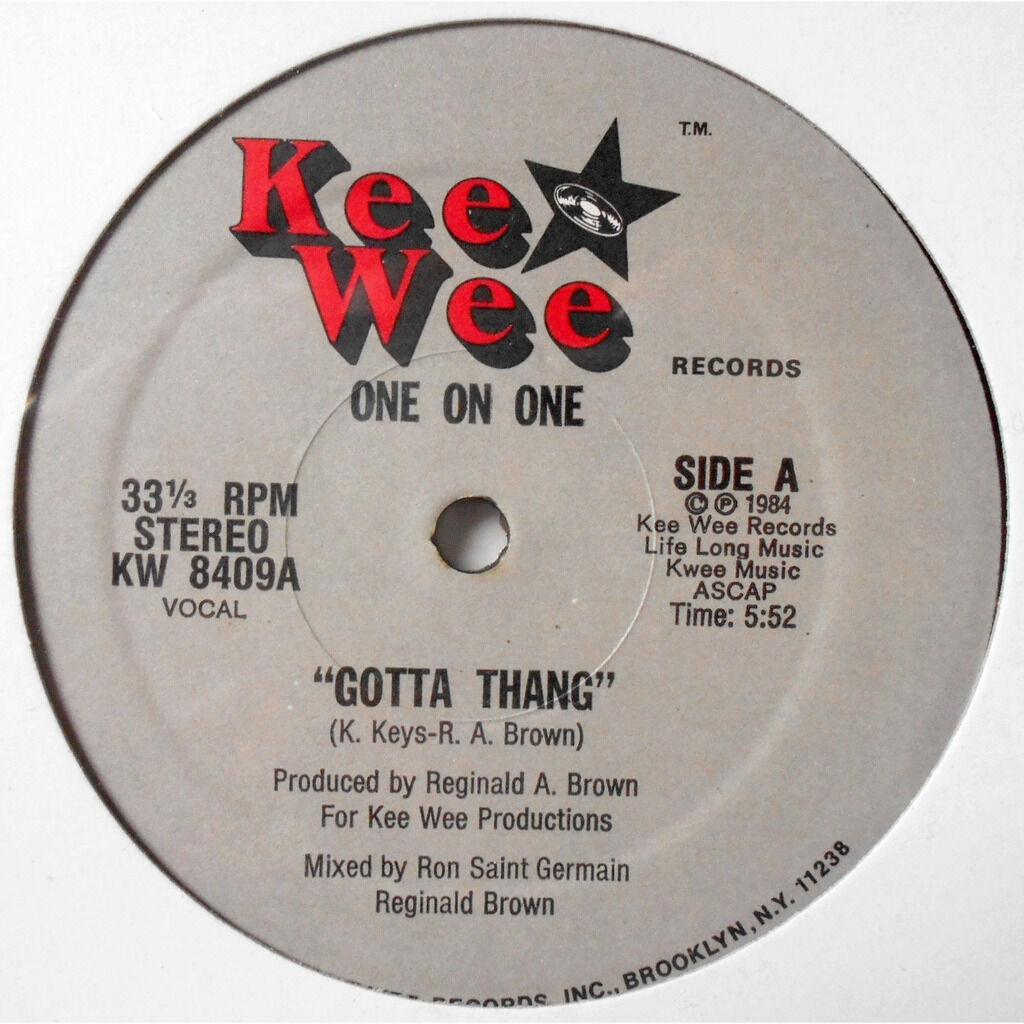 One On One Gotta Thang / Gotta Thang (Instrumental)