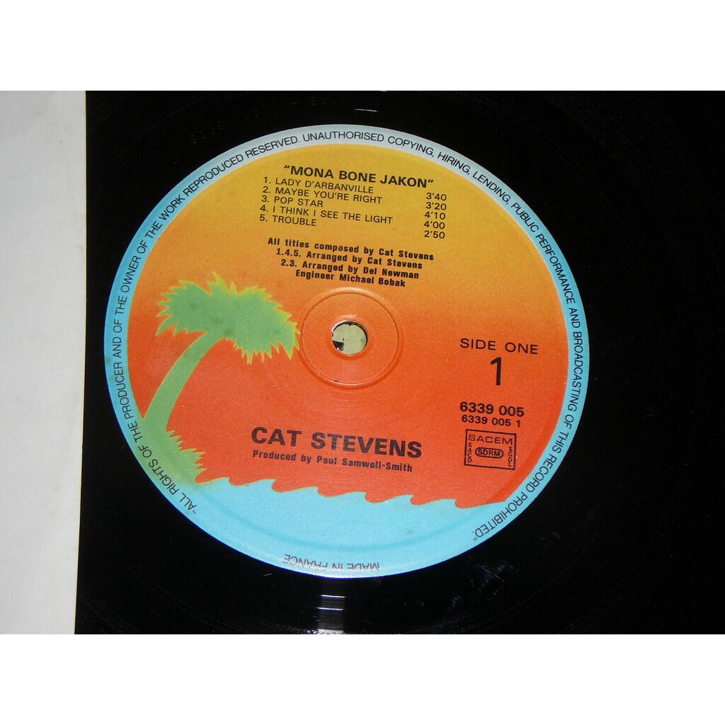 CAT STEVENS Mona Bone Jackson