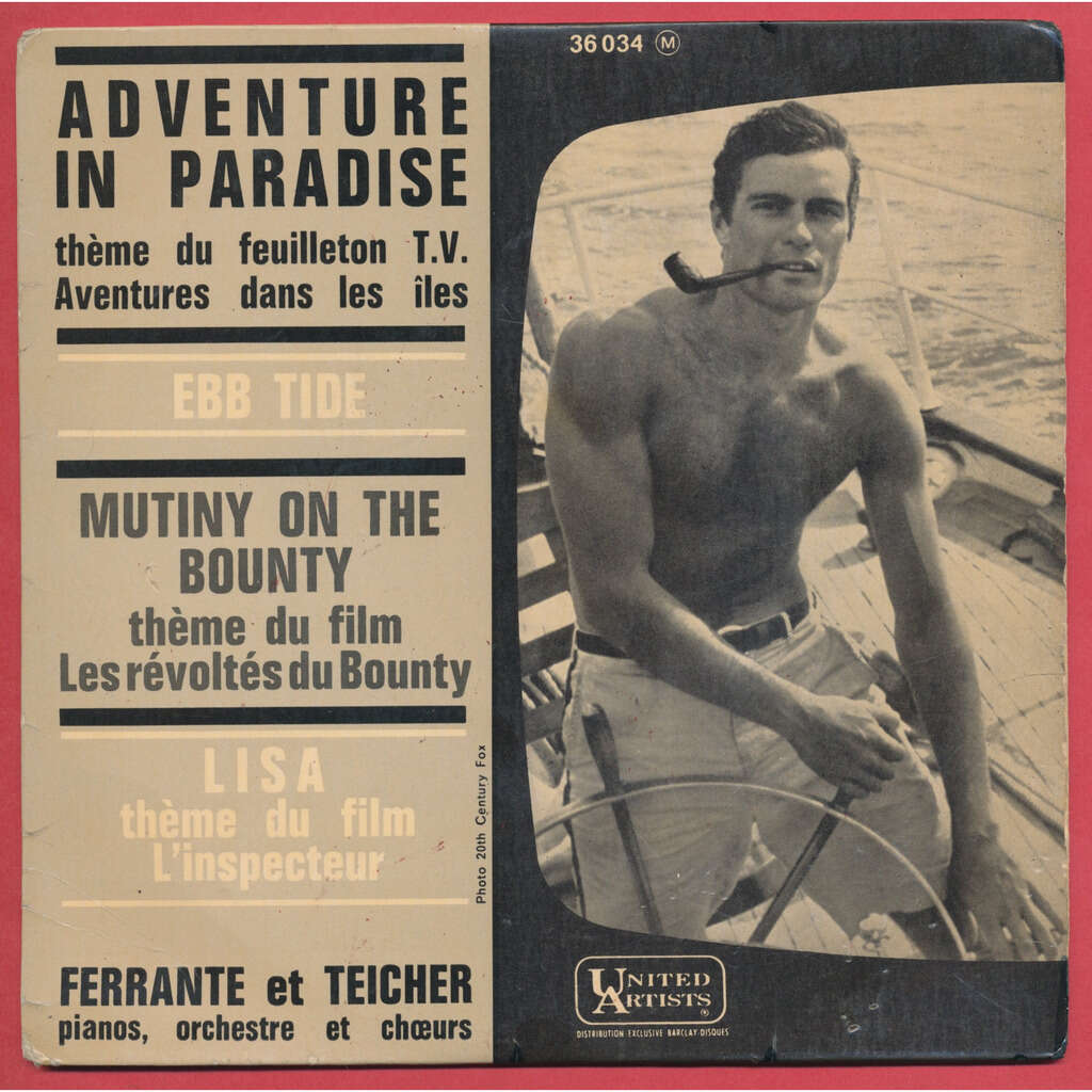 FERRANTE ET TEICHER adventure in paradise - aventures dans les iles