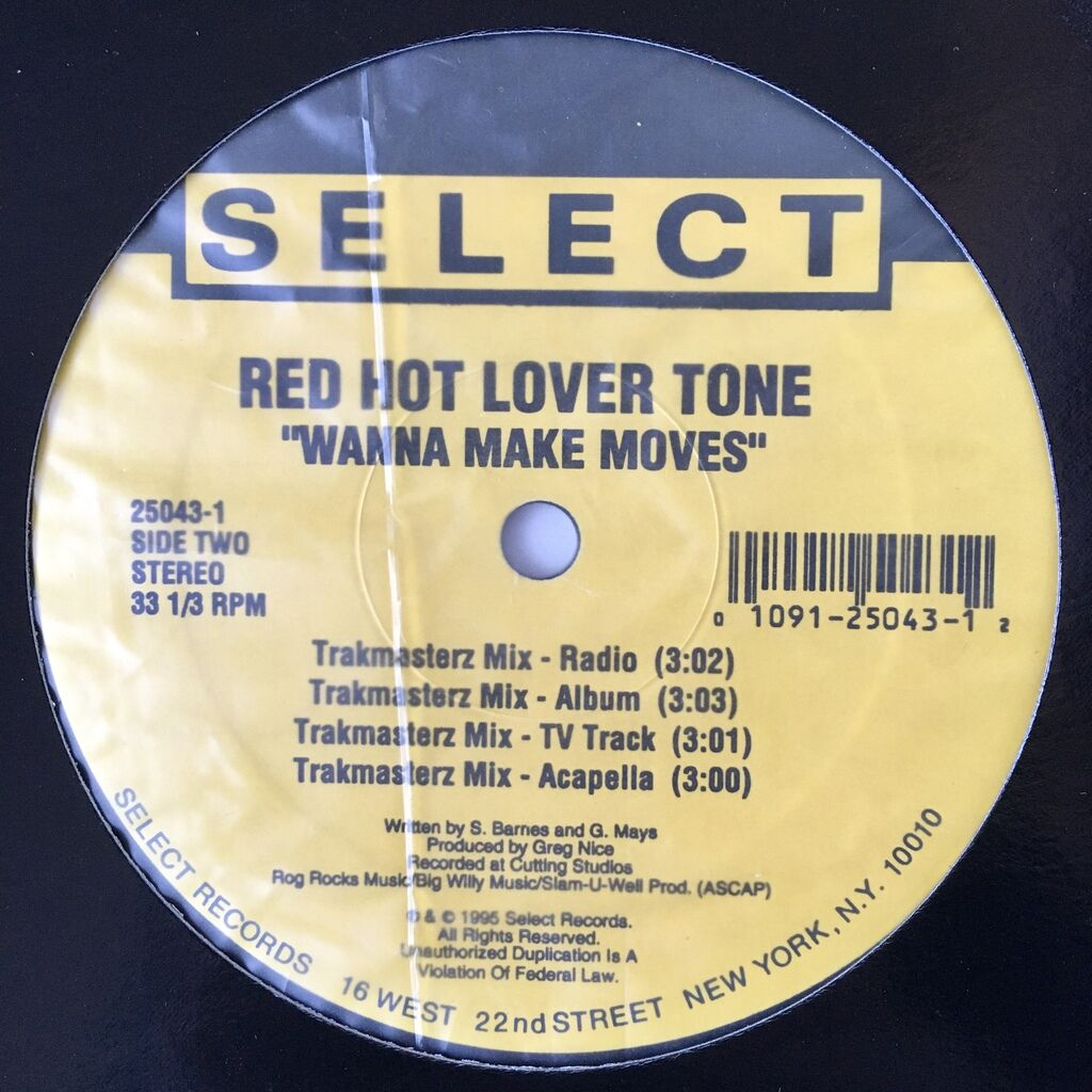 Red Hot Lover Tone Wanna Make Moves
