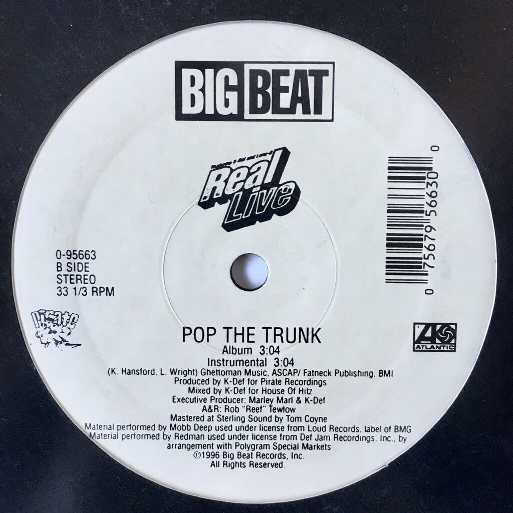 Real Live Real Live Sh*t (Remix) / Pop The Trunk