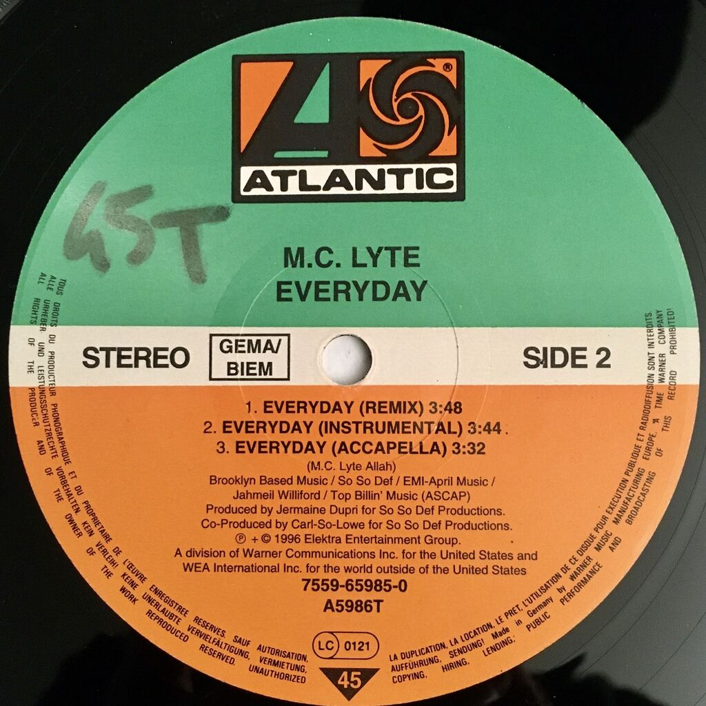 MC Lyte Everyday