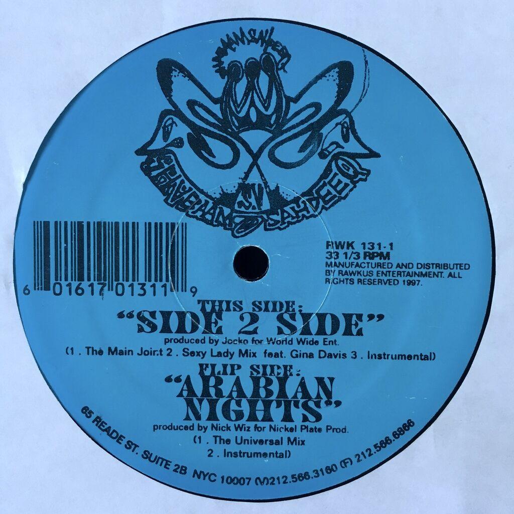 Shabaam Sahdeeq Side 2 Side / Arabian Nights