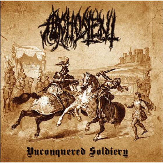 ARGHOSLENT Unconquered Soldiery. Black Vinyl