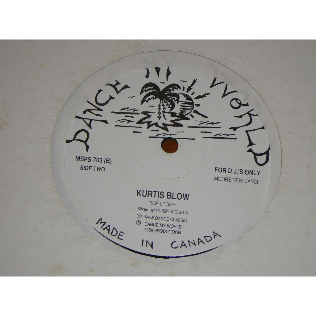 Kurtis Blow megamix / rap story