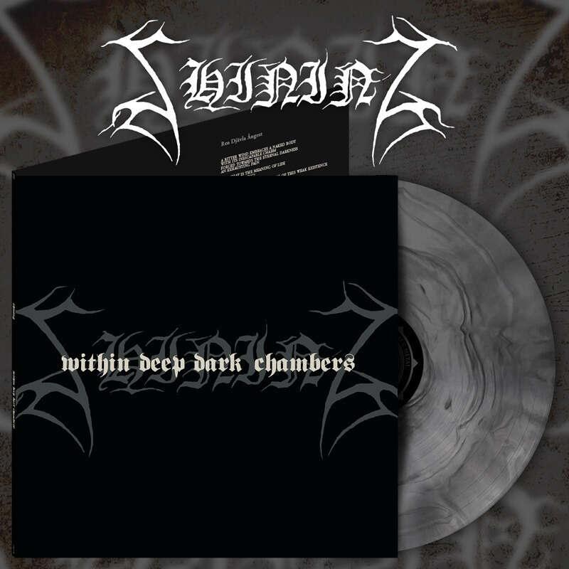 SHINING I./ Within Deep Dark Chambers. Silver Galaxy Vinyl