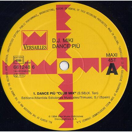 DJ Miki Dance Più
