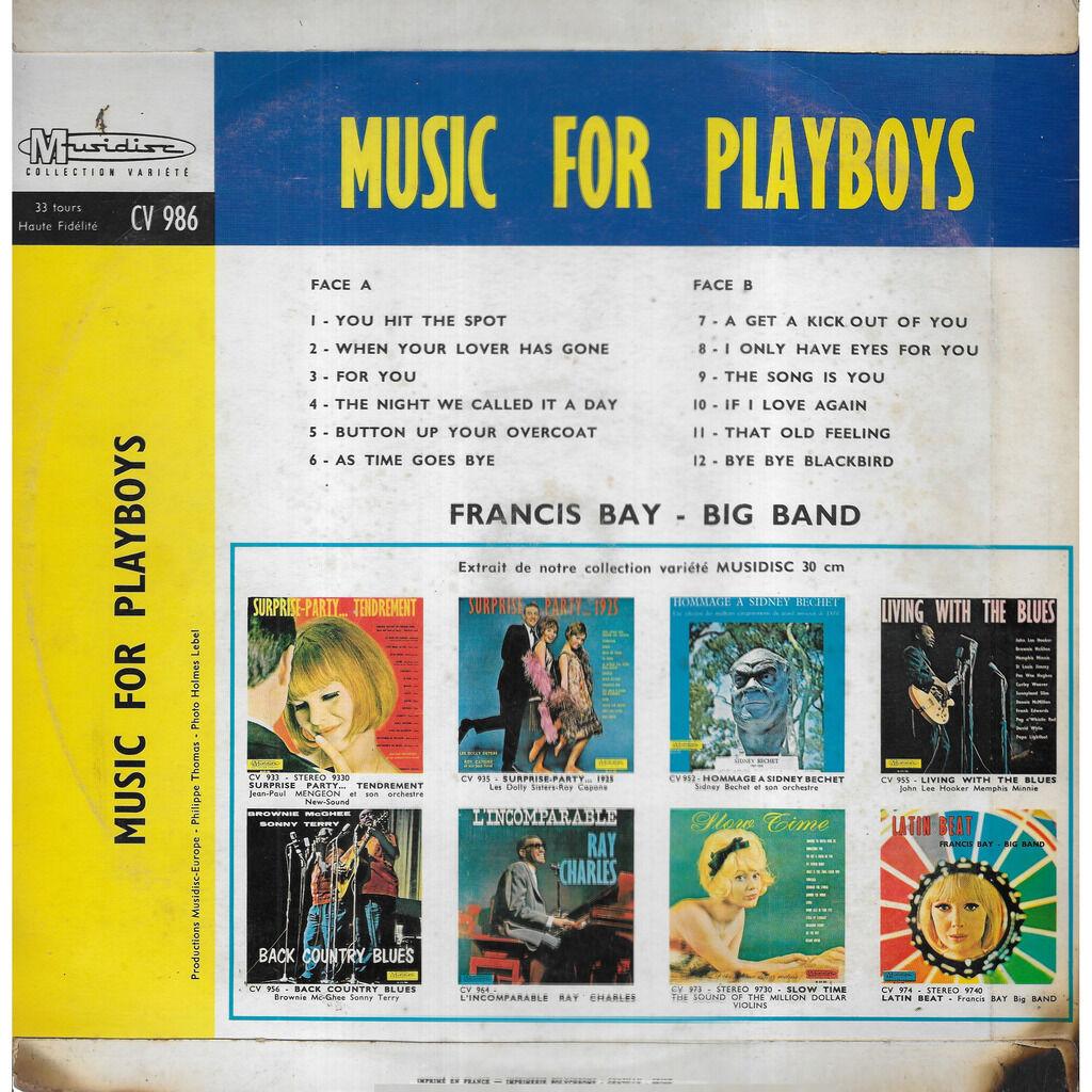 Francis BAY Big Band Music For Playboys