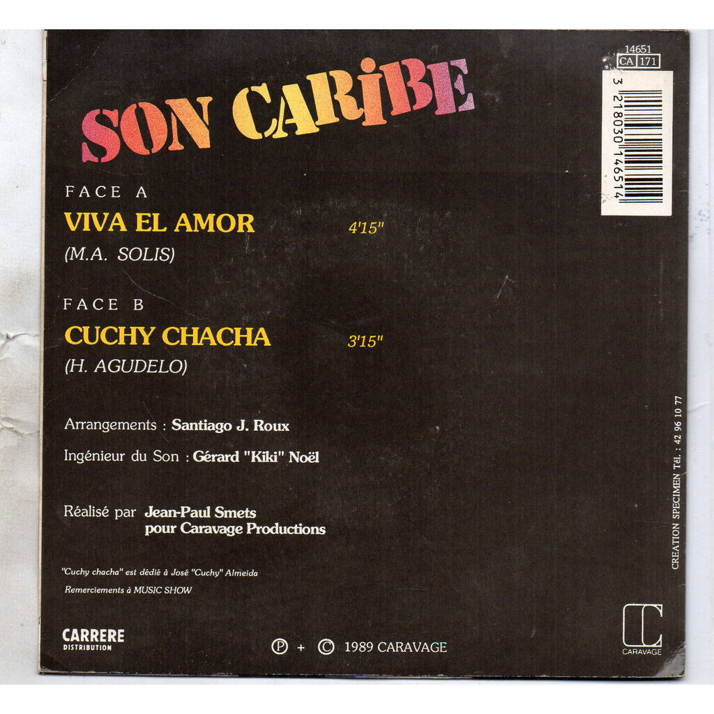 Son Caribe Viva El Amor / cuchy chacha