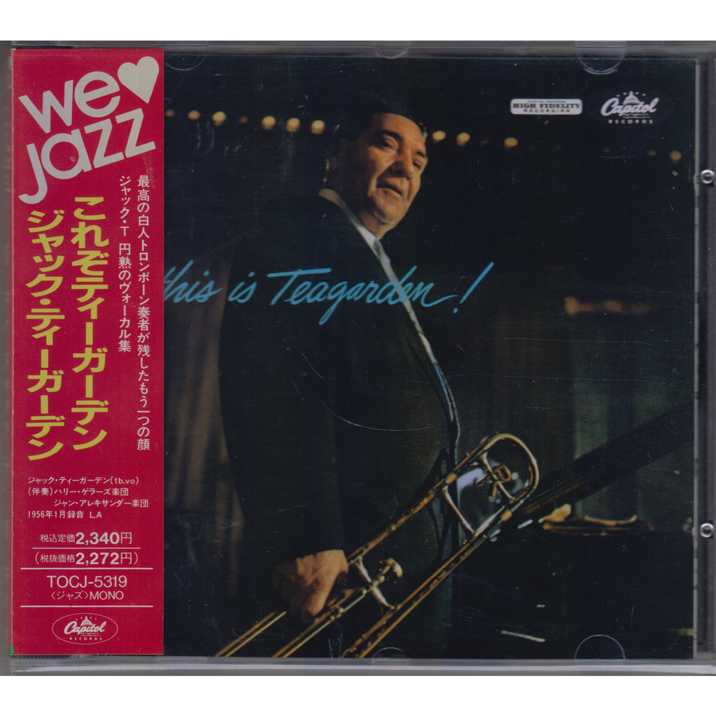 JACK TEAGARDEN This Is Teagarden! JAPAN OBI PROMO NEW