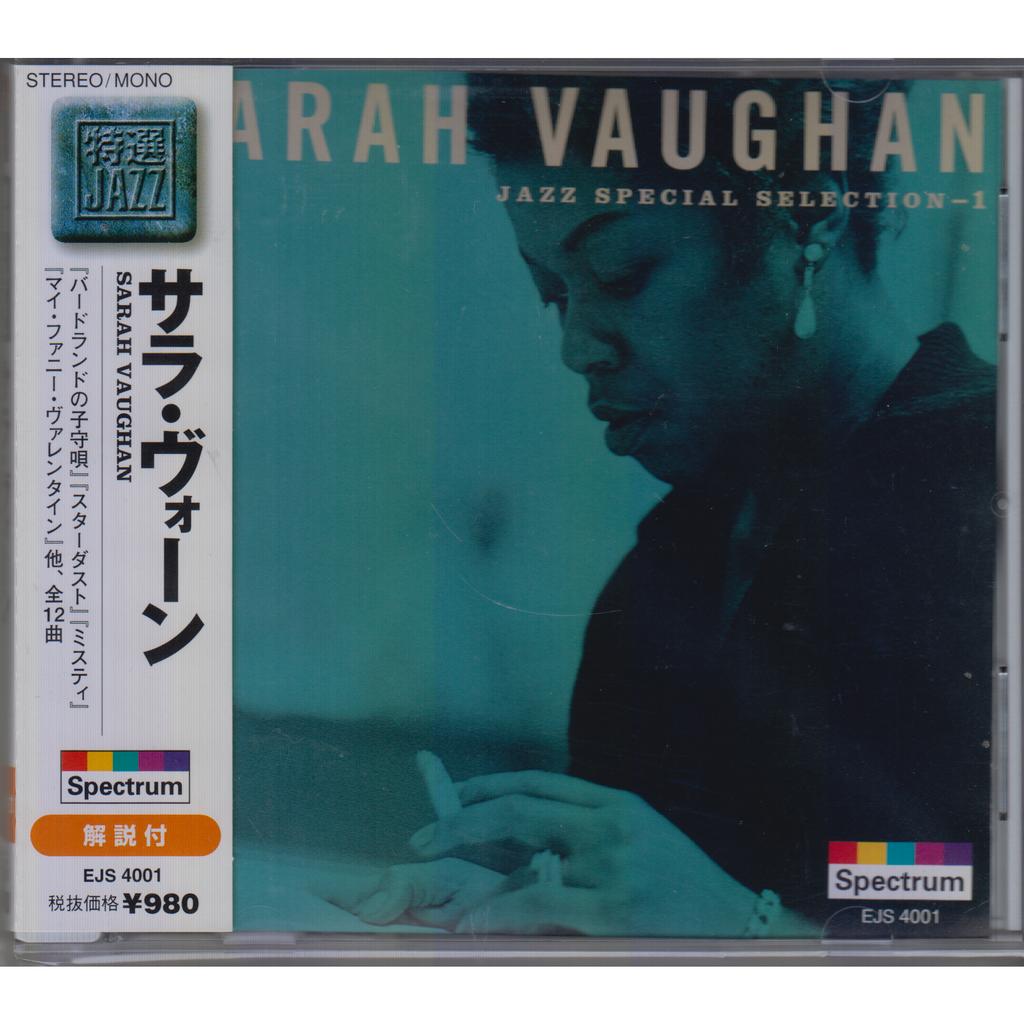 SARAH VAUGHAN Jazz Special Selection - 1 JAPAN OBI NEW
