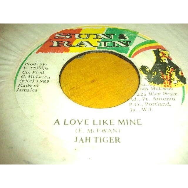 Jah Tiger A Love Like Mine / VERSION ORIG