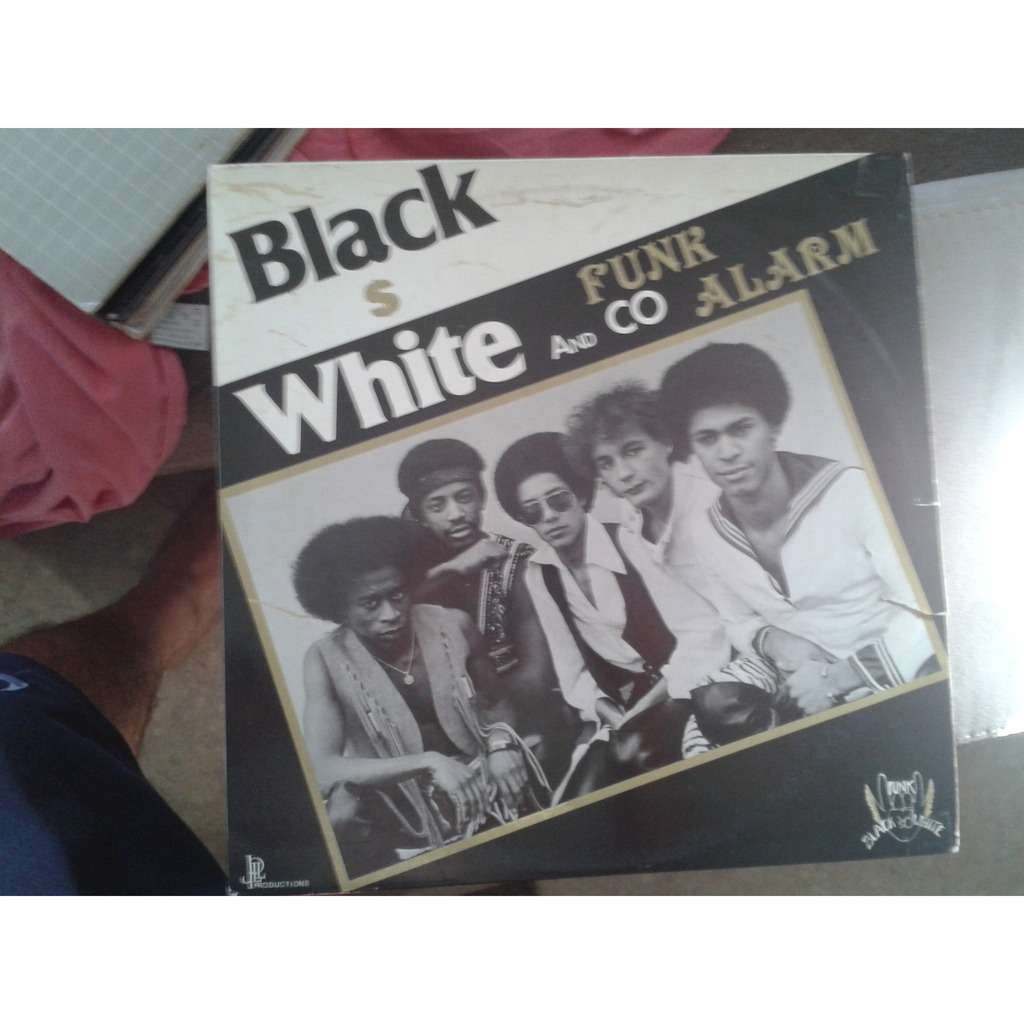 Black White And Co Funk Alarm.1980.