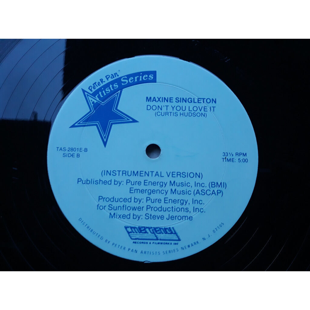 MAXINE SINGLETON don't you love it.1982.