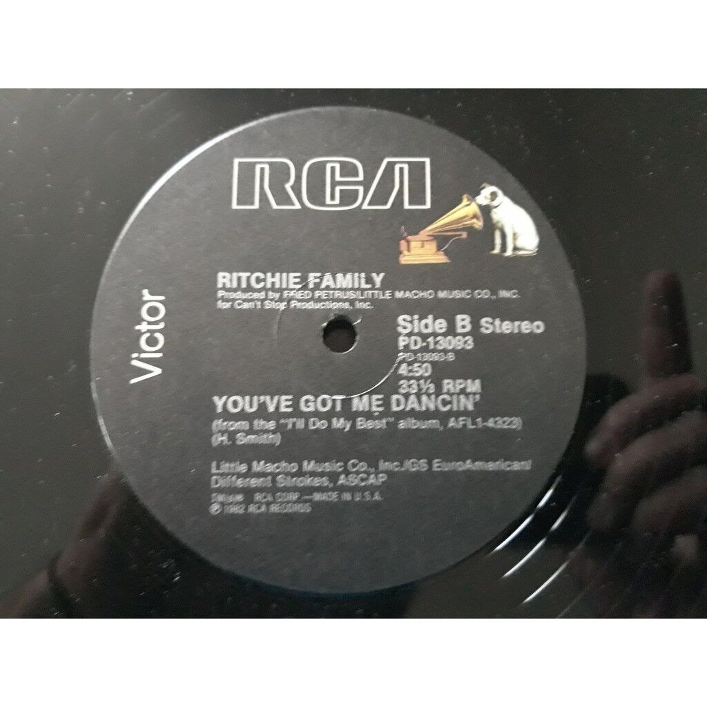 Ritchie Family* I'll Do My Best (For You Baby) 1982.