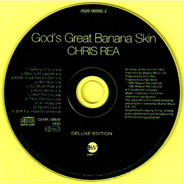 Chris Rea God's Great Banana Skin (incl. 5 bonuses)