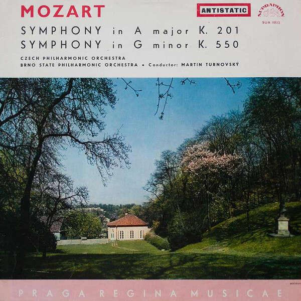 Czech & Brno State Philharmonic Martin Turnovsky Mozart: Symphony No. 29 In A Major, K. 201 / Symphony No. 40 In G Minor, K. 550
