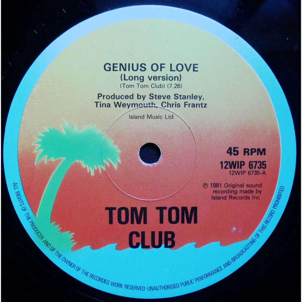 Tom Tom Club Genius Of Love / Lorelei