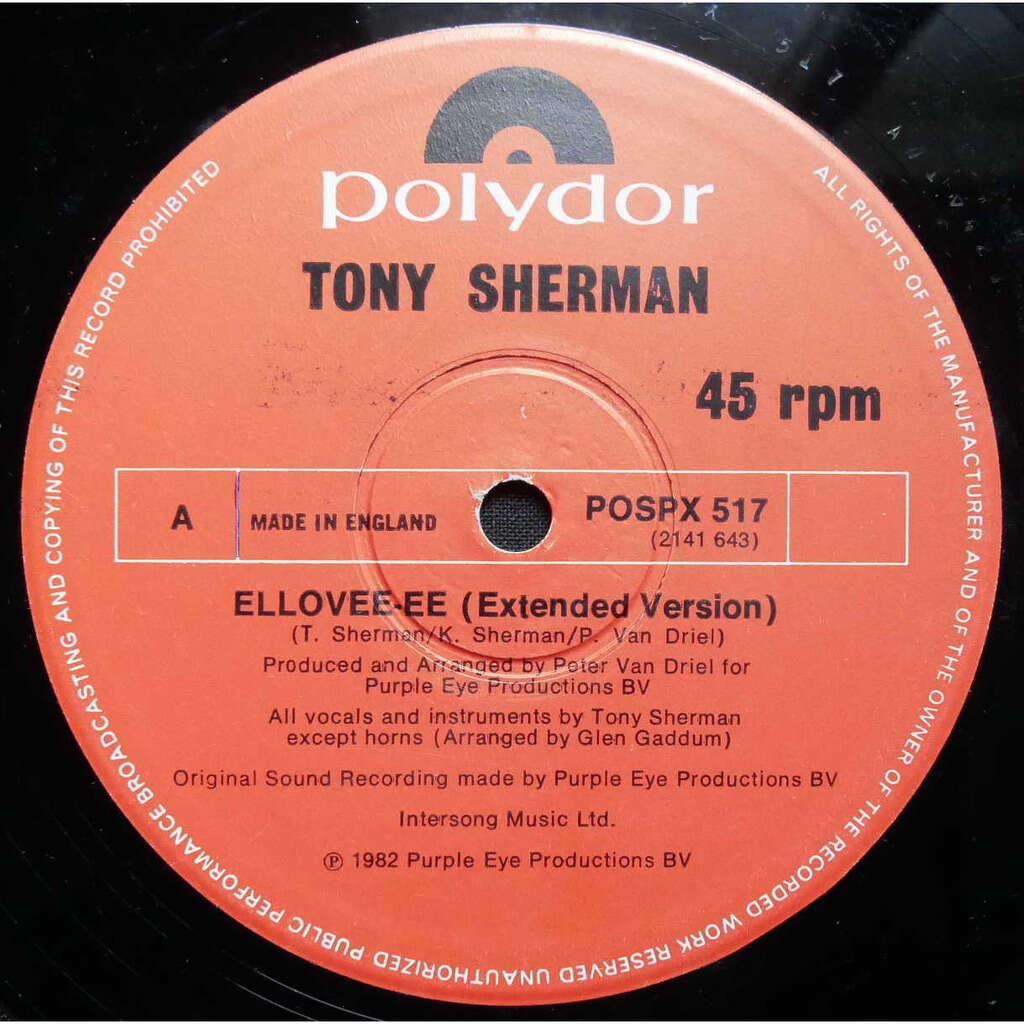Tony Sherman Ellovee-Ee