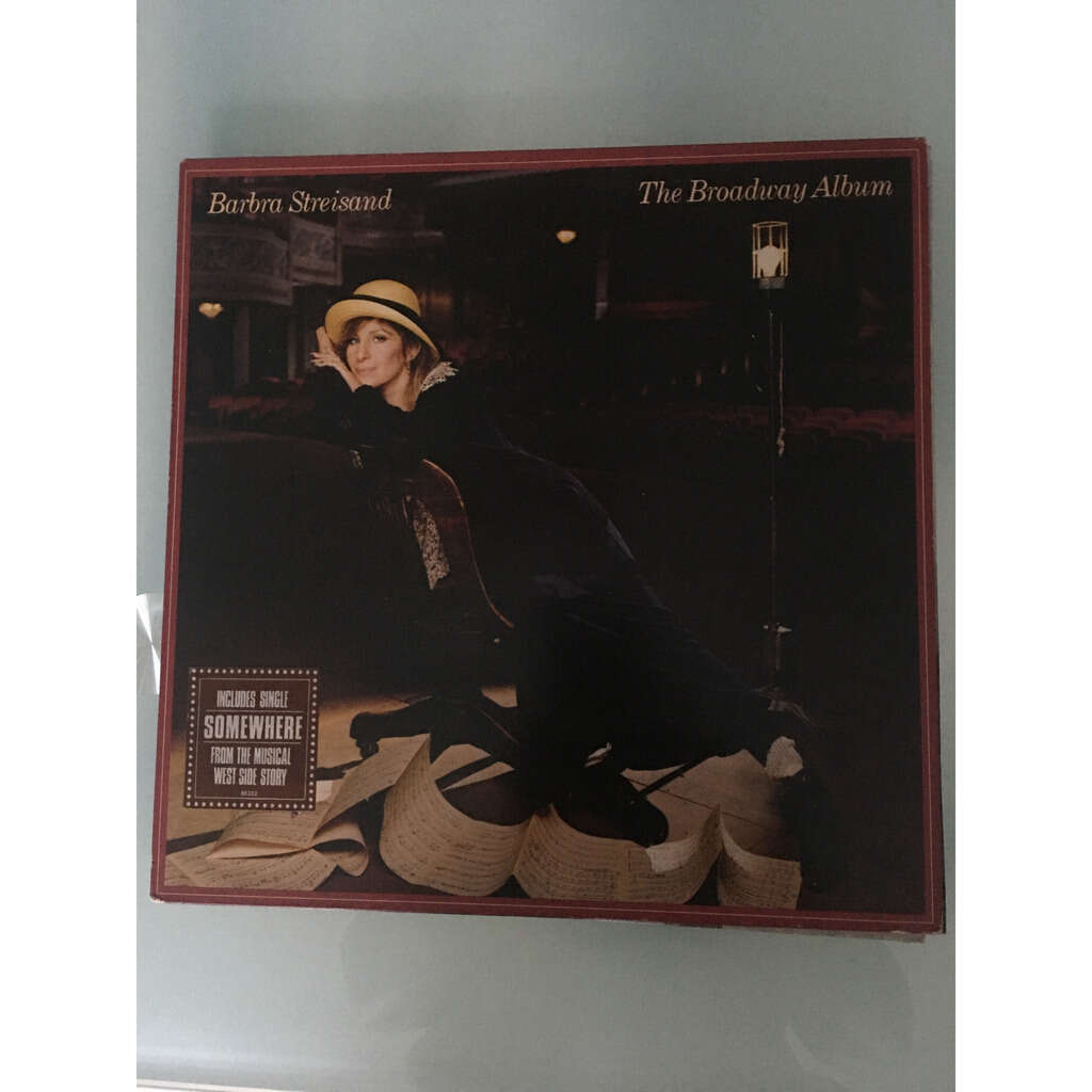 barbra streisand the broadway album