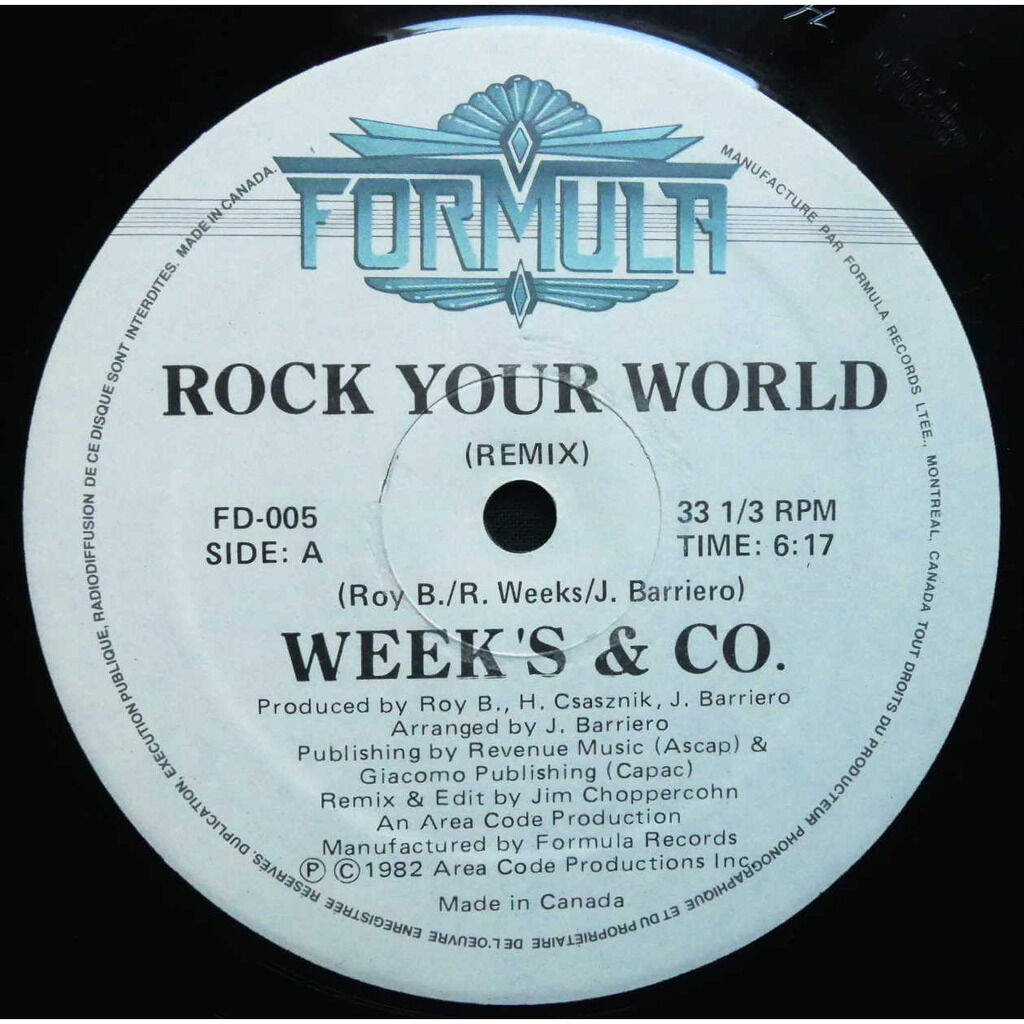 Weeks & Co. Rock Your World (Remix)