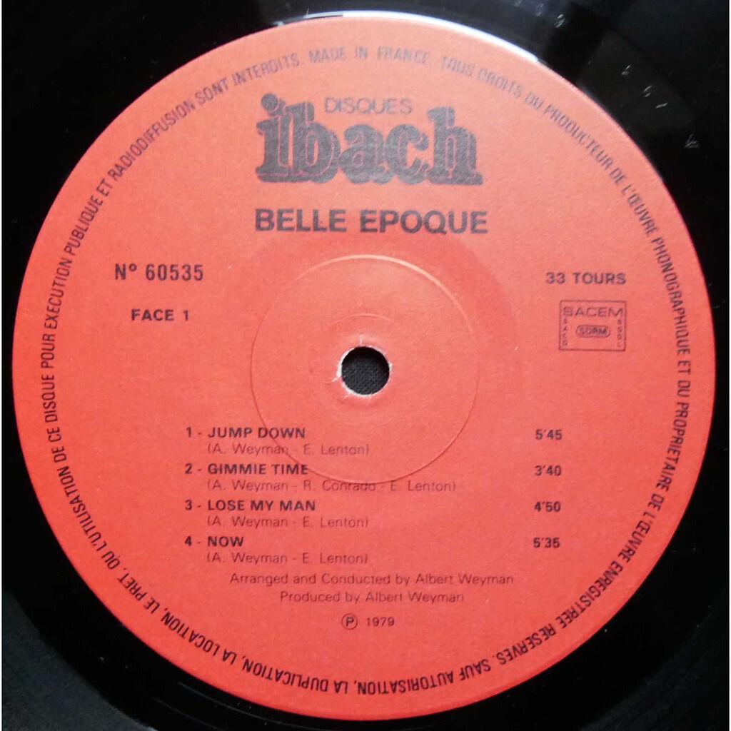 Belle Epoque Now