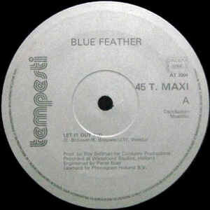 blue feather Let It Out .1983.