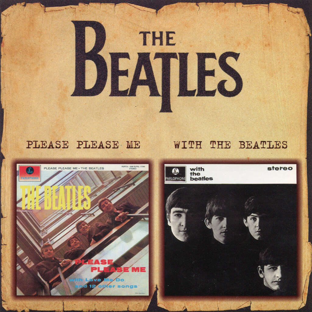 Beatles please please me / with the beatles