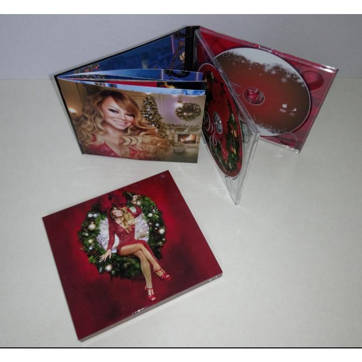mariah carey Magical Christmas Special - CD + DVD Digipak Deluxe - version 9 (Brazil release 2021)