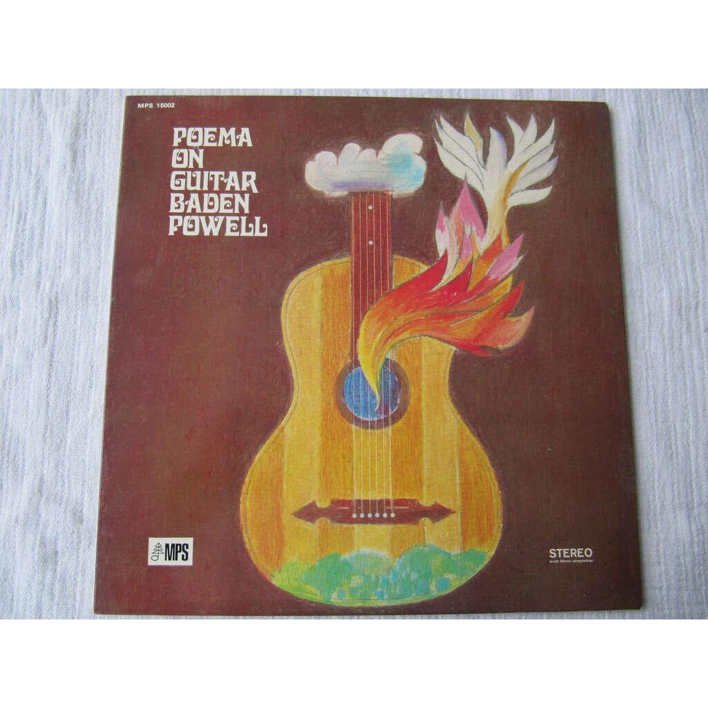 Baden Powell Poema On Guitar