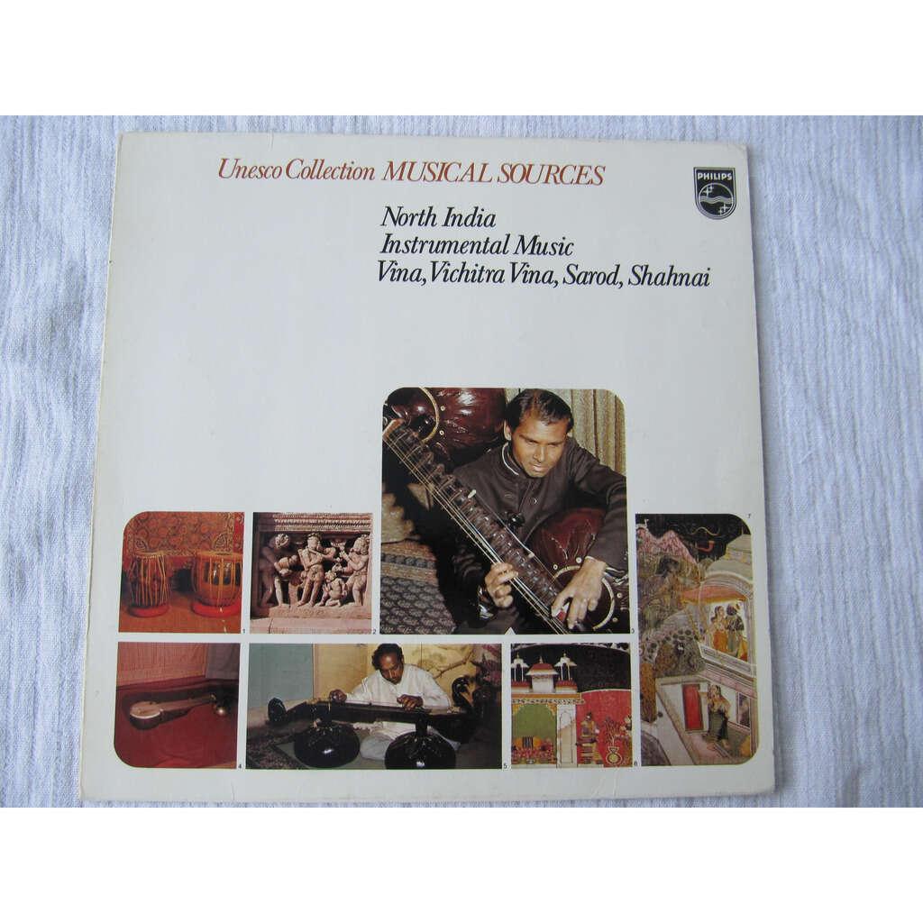 Various North India - Instrumental Music: Vina, Vichitra Vina, Sarod, Shahnai