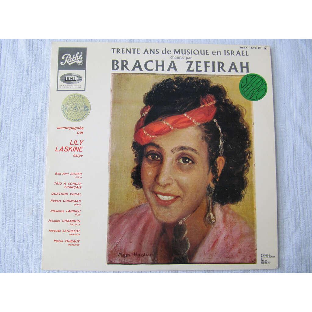 Bracha Zifira Trente Ans de Musique En Israël Chantés Par