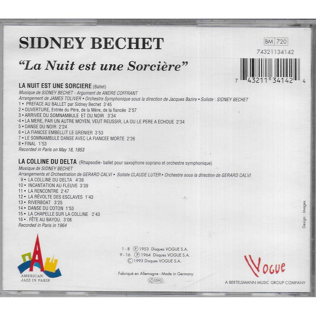 Sidney BECHET La Nuit est une Sorcière