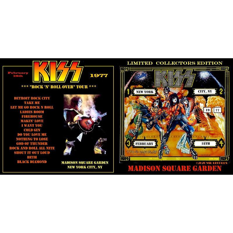 kiss live at madison square garden 1977 February 18th ltd Cd