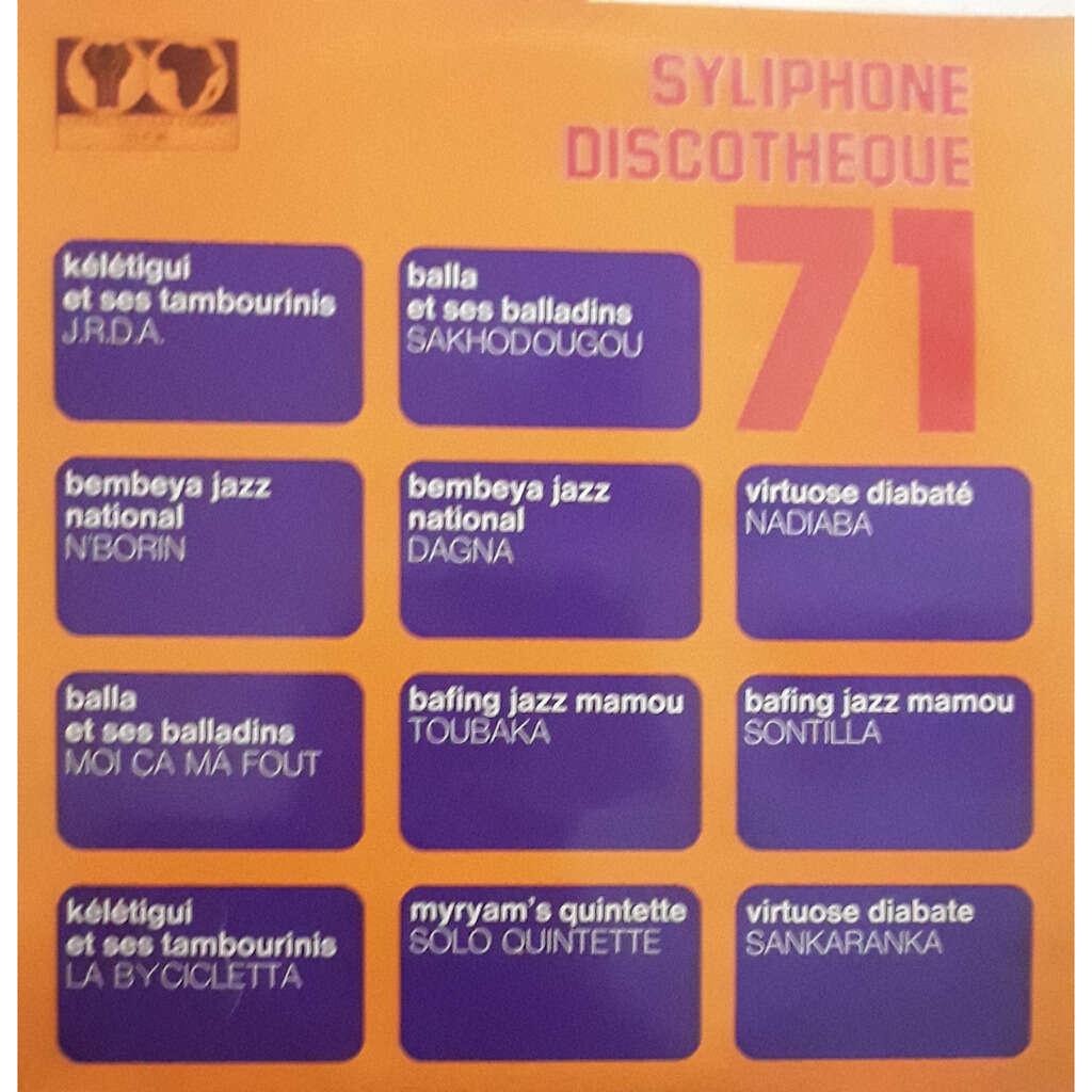 Kélétigui Et Ses Tambourinis.Bembeya Jazz Nationa. Discotheque 71